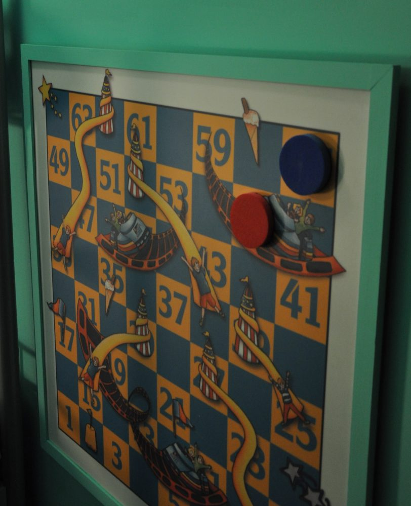 Snakes & Ladders Family Rooms