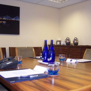 Big Blue Boardroom